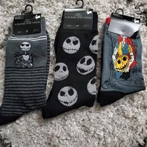Nightmare before christmas sock bundle